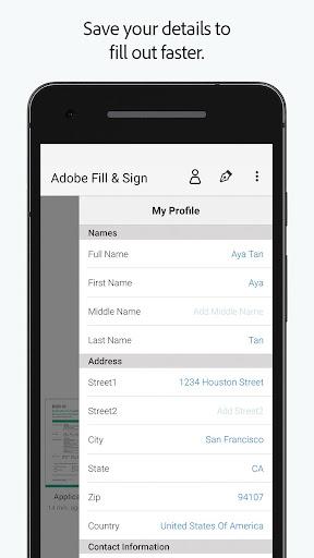 Adobe Fill & Sign: Easy PDF Doc & Form Filler. 1.5.0 Apk for Android 3
