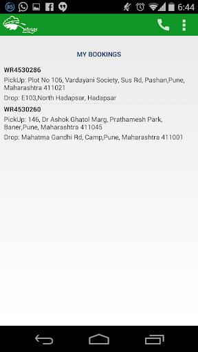 Wings Cabs - Radio Taxi Pune screenshot 4