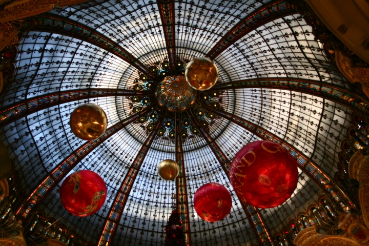 Cupola dei magazzini Lafayette, Parigi di evaluna