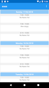Download Work and Schedule Organizer For PC Windows and Mac apk screenshot 3