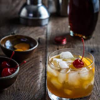 Maple Bourbon Cocktail.