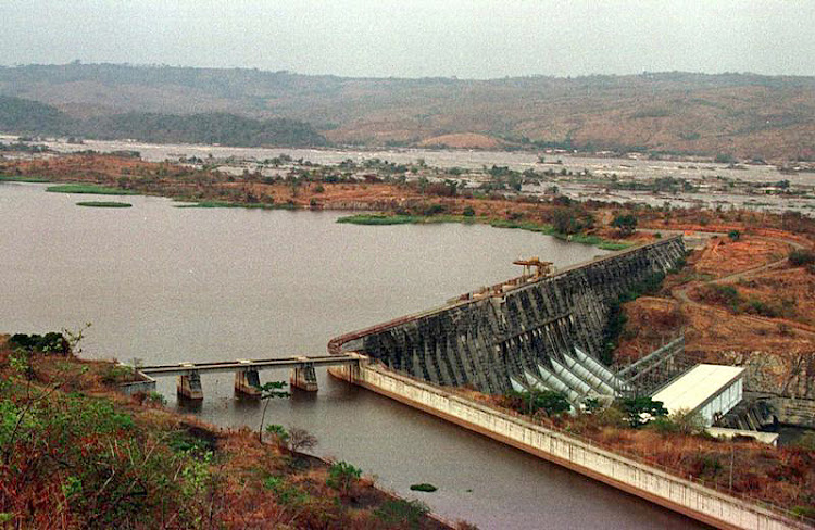 A file photo shows the Inga dam in the Congo. Picture: REUTERS