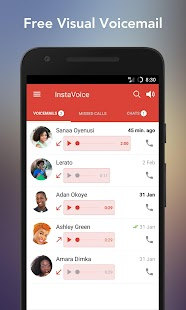 InstaVoice: Visual Voicemail & Missed Call Alerts- screenshot thumbnail