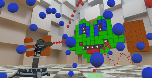 RGBalls u2013 Cannon Fire : Shooting ball game 3D apkpoly screenshots 6