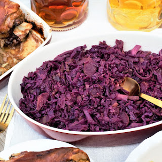 Rotkohl (Red Cabbage).