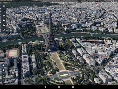Google Earth – miniaturescreenshot