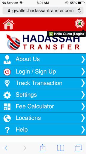 Hadassah Money Transfer