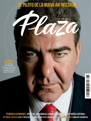Revista Plaza: captura de pantalla