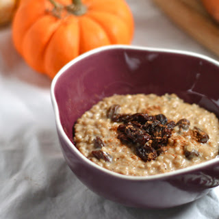 Pumpkin Spice Steel-Cut Oats