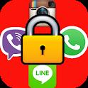 قفل برنامه ها - با اثرانگشت، الگو، عدد زد دزد و هک icon
