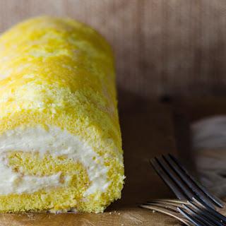 Lemon Cream Roulade.