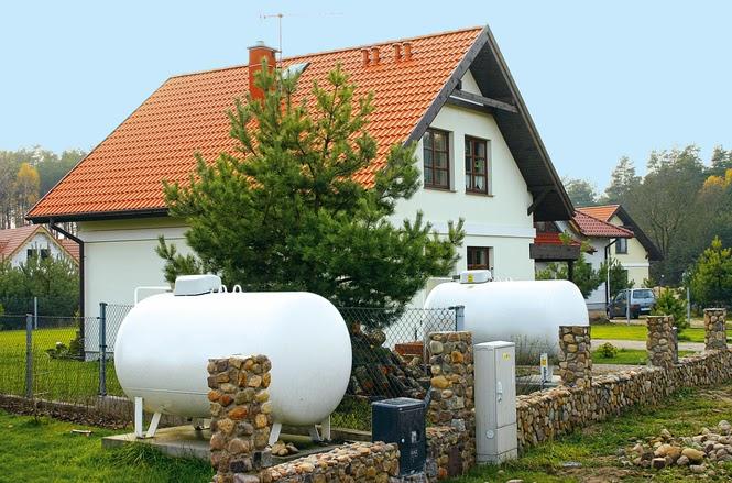 Naziemny zbiornik na gaz płynny
