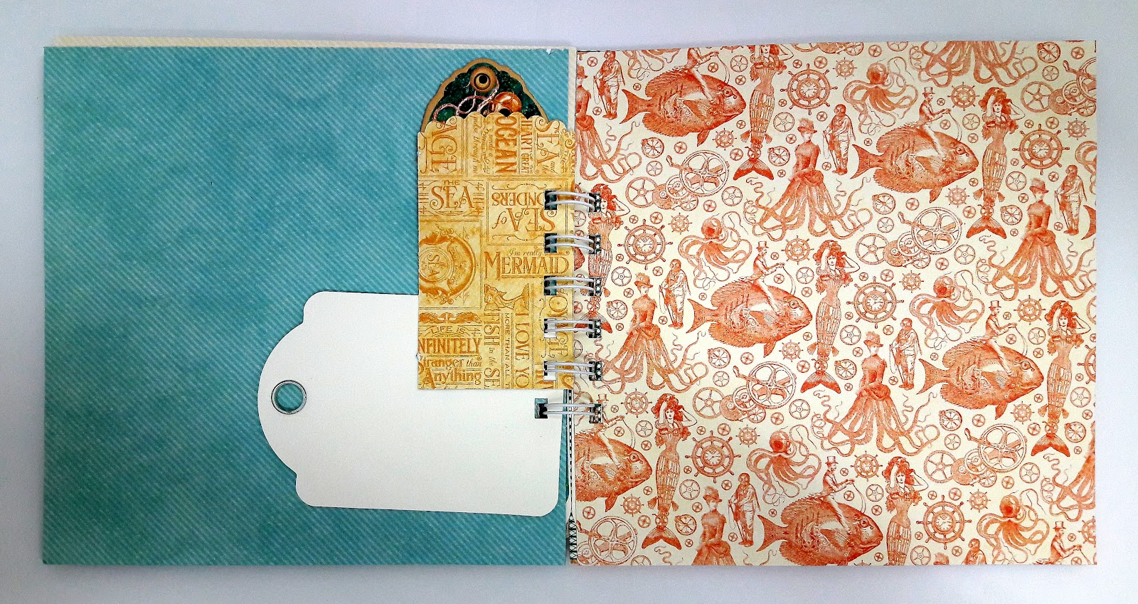 Vacation Notebook, Einat Kessler, Voyage beneath the Sea, product by Graphic 45, photo 3.jpg