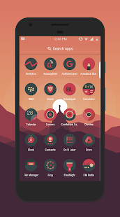 Sagon Circle Icon Pack: Dark UI Screenshot