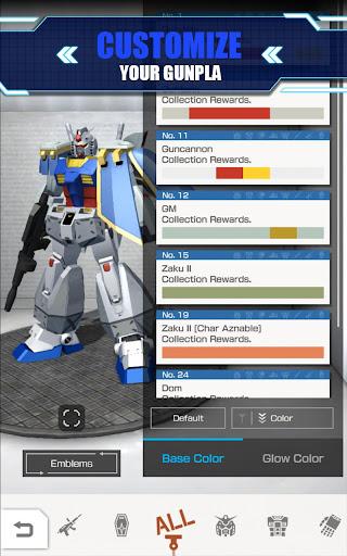 GUNDAM BATTLE GUNPLA WARFARE 1.01.00 screenshots 1