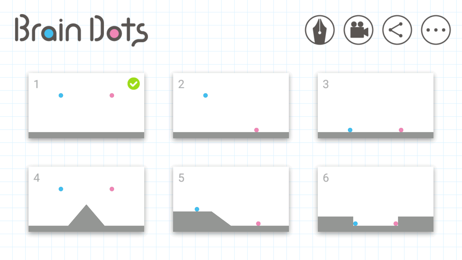 Brain Dots- screenshot