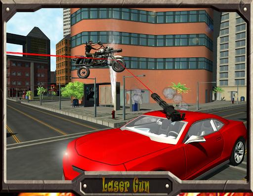 街道犯罪摩托戰鬥機3D