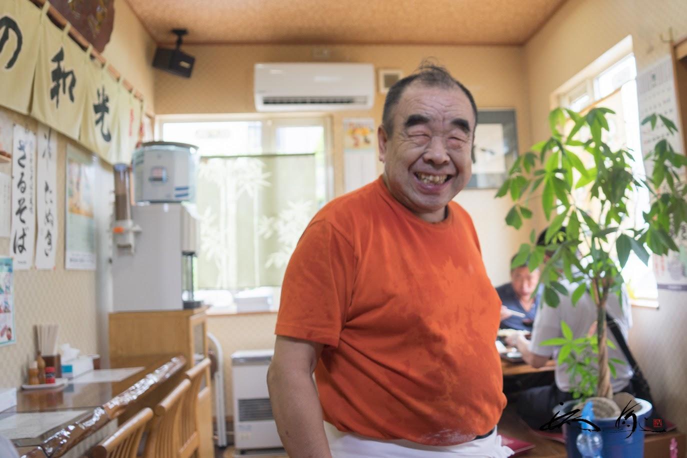 優しい笑顔のオーナー・宮田光雄さん