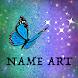 Glitter Name Art Maker