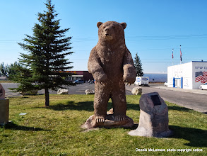 Photo: Old Ephraim sculpture in Montpiler, Idaho