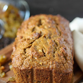 Citrusy Pumpkin Bread