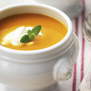 Pumpkin Soup With Sour Cream Recipes