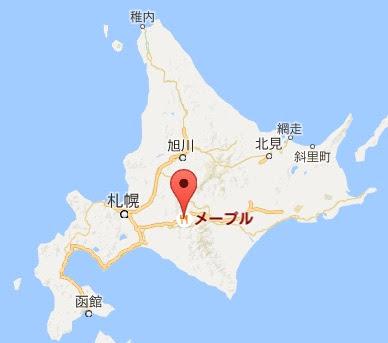 地図:レストランメープル