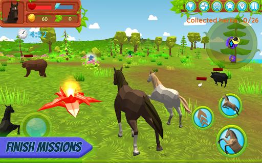 Horse Family u2013 Animal Simulator 3D apkmr screenshots 3