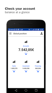 Banco Sabadell App. Your mobile bank- screenshot thumbnail