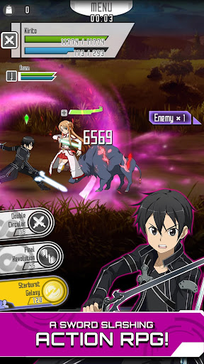 SWORD ART ONLINE:Memory Defrag  gameplay | by HackJr.Pw 1