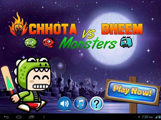 Cricketer Chota Bheem-Monsters