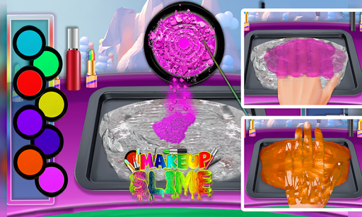 DIY Makeup Slime Maker! Super Slime Simulations screenshot 4