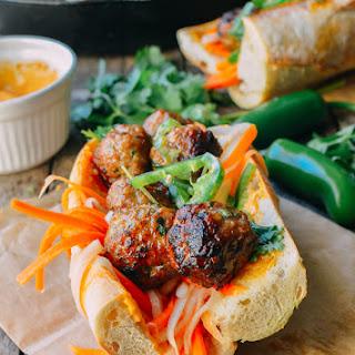 Meatball Banh Mi.