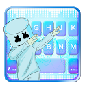 Blues Dj Cool Man Keyboard Theme icon