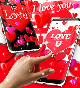 I love you live wallpaper
