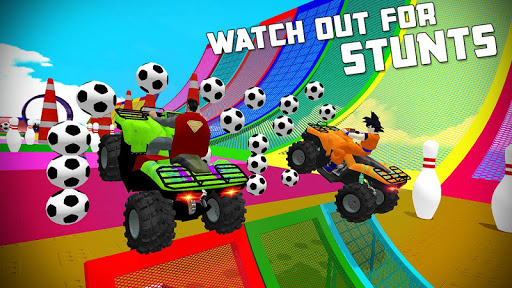 Quads Superheroes Stunts Racing 1.5 screenshots 15