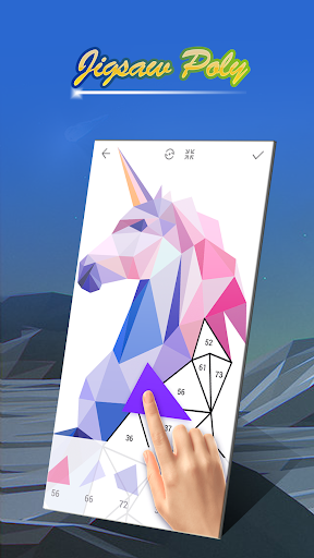 Poly Art - Jigsaw Puzzle u2013 Color By Number Lo Poly 10.0 screenshots 1