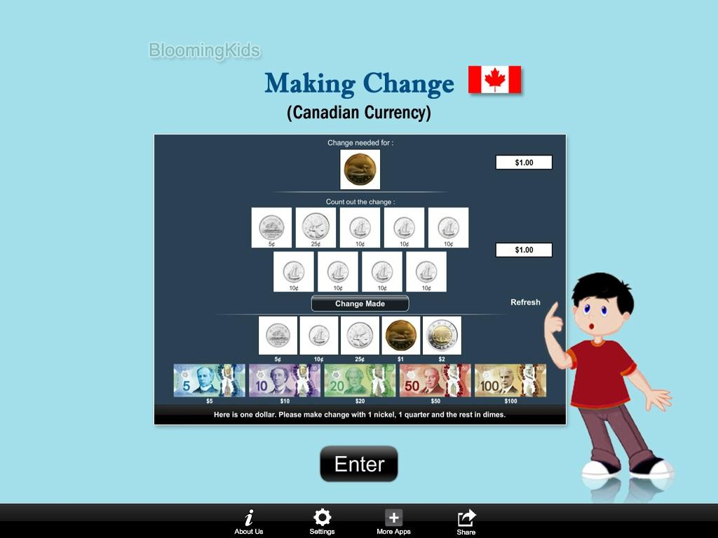 Canadian Making Change- screenshot