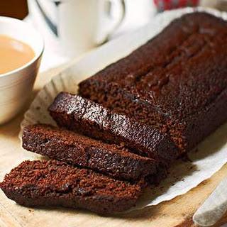 Chocolate Orange Loaf Cake.