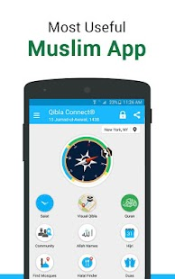 Qibla Connect® Find Direction- Prayer, Azan, Quran - náhled