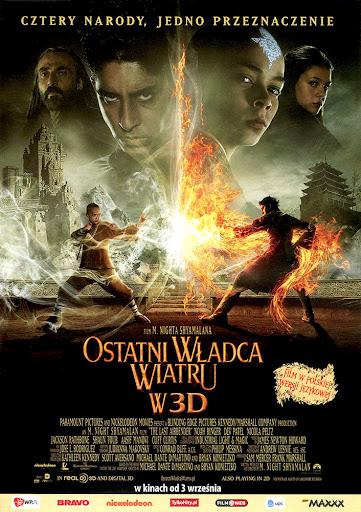 Przód ulotki filmu 'Ostatni Władca Wiatru'