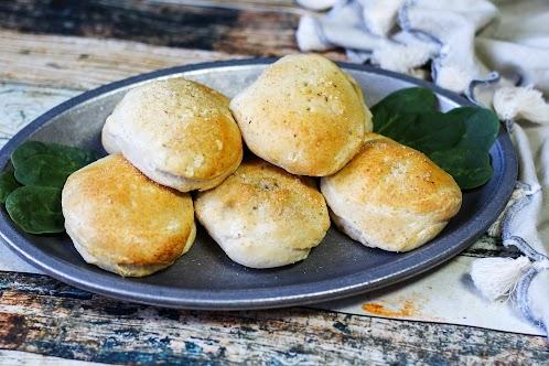 Steak-n-Cheese Stuffed Biscuits