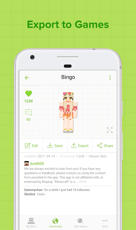 Skinseed for Minecraft - Android Apps on Google Play