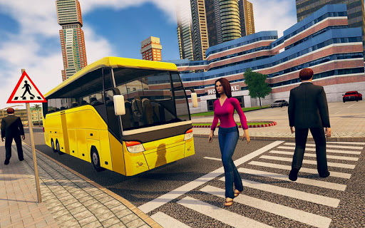 City Bus Driving School Game 3D-Coach Bus Sim 2020  screenshots 13