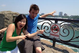 Photo: Danger!