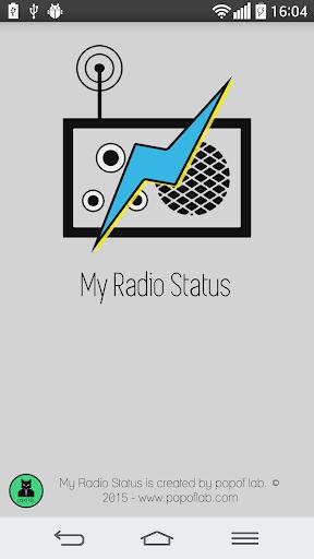 My Radio Status