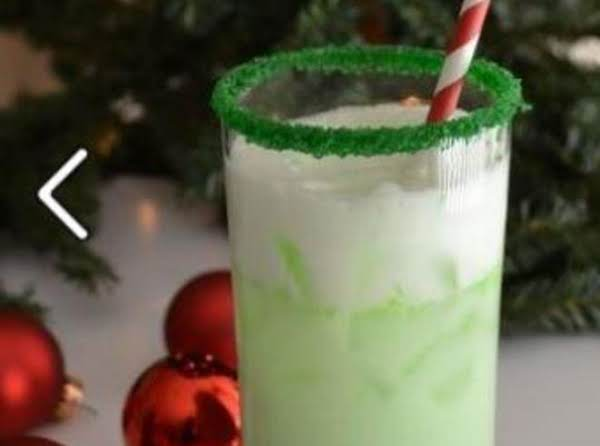 Grinch Spritzer Recipe