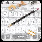 Doodle Pencil Keyboard Theme icon