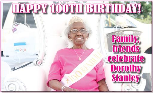 Family, friends celebrate Dorothy Stanley's 100th birthday