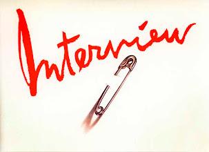 """Photo: """"Interview/punk"""", 1977, acrylique sur papier"""